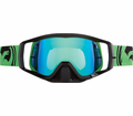 Dragon - Vendetta - Green / Black Split Green Ion Lens Eyewear from Motobuys.com
