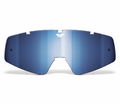 Fly Racing - Pro Zone Adult Replacement Lenses/Accessories - FLY lens Chrome/Blue ATF/ATS - Lowest Price Guaranteed!