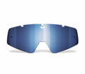 Fly Racing - Pro Zone Focus Youth Replacement Lenses/Accessories - FLY lens Chrome/Blue Youth ATF/ATS - Lowest Price Guaranteed!