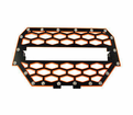 Modquad - Utv Accessories - Polaris RZR 1000 XP front Grills in Black/Orange - Lowest Price Guaranteed! Free Shipping!