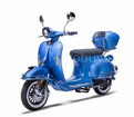 The NEW Chelsea Deluxe 150 Retro, now with USB Port, Remote Start, Alarm, ABS Brakes, Custom Rims & Tires -