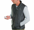 Venture - Apparel - Batttery Heated Mens Nylon Vest from Motobuys.com