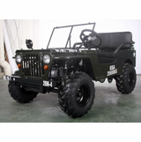 Willys Off-Road 125cc -NEW IMPROVED 2017 Model - CALIF LEGAL