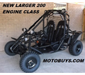 Yamobuggy RLGK-200R Go Kart / Dune Buggy - FREE SHIPPING! Call us at 877-667-6289