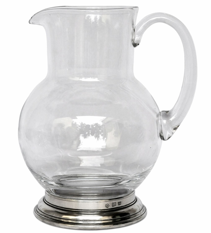1 5 liter glass pitcher by match pewter. Black Bedroom Furniture Sets. Home Design Ideas