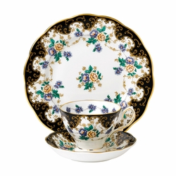 100 Years 1910 Duchess 3-Piece Teacup Set by Royal Albert - Special Order