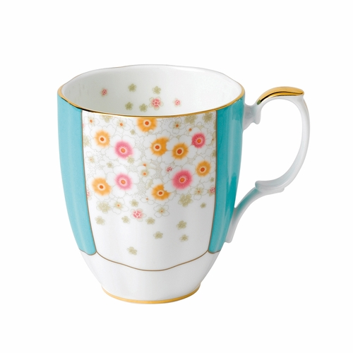 100 Years 1930 Mint Deco Mug by Royal Albert - Special Order