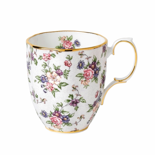 100 Years 1940 English Chintz Mug by Royal Albert - Special Order