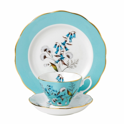 100 Years 1950 Festival 3-Piece Teacup Set by Royal Albert - Special Order