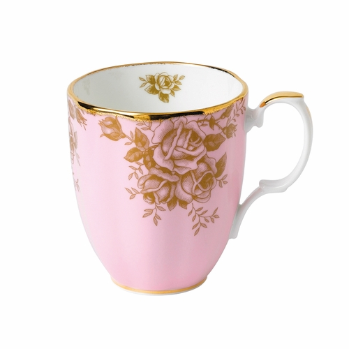 100 Years 1960 Golden Rose Mug by Royal Albert - Special Order