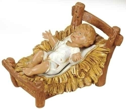 "12"" Infant & Cradle - Fontanini"