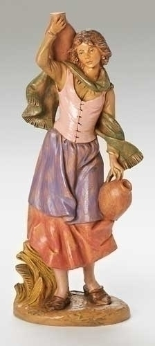 "12"" Judith with Pots Figure - Fontanini"