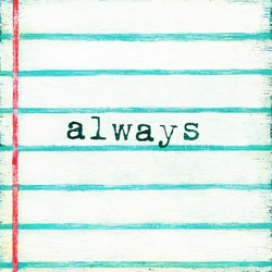 """12"""" x 12"""" Always Small Print by Sugarboo Designs"""