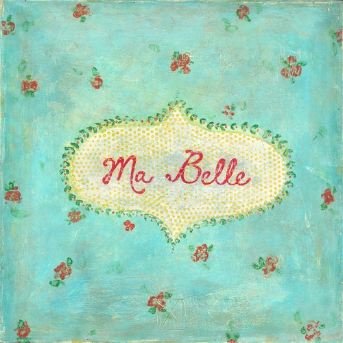 "12"" x 12"" Ma Belle Small Print by Sugarboo Designs"