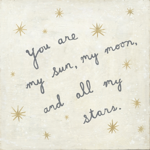 """12"""" x 12"""" My Sun, My Moon Small Print by Sugarboo Designs"""