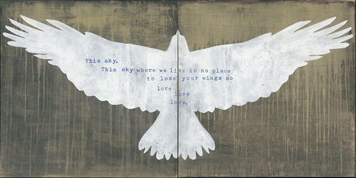 """12"""" x 12"""" This Sky By Hafiz (Both Panels) Small Print by Sugarboo Designs"""