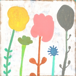 """12"""" x 12"""" Your Mind Is A Garden (Top Panel) Small Print by Sugarboo Designs"""