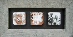 "12"" X 24"" Reclaimed Triple Frame by Sugarboo Designs"