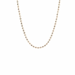 "16"" - 18"" Antique Gold Ball Chain by Benny & Ezra"