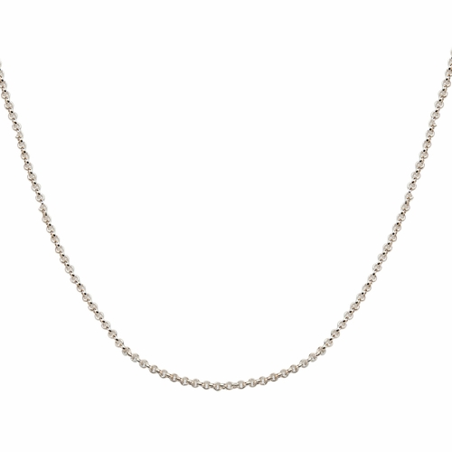"16"" Sterling Silver 2mm Rolo Chain - TLSJ BRAND"