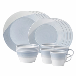 1815 Blue 16-Piece Set by Royal Doulton