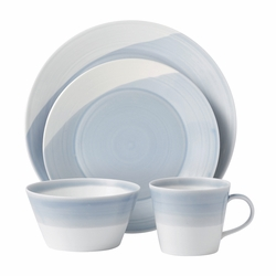 1815 Blue 4-Piece Set by Royal Doulton