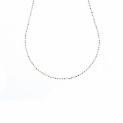 "24"" Antique White Ball Chain by Benny & Ezra"