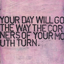 """24"""" x 24"""" Your Day Will Go Art Print by Sugarboo Designs"""