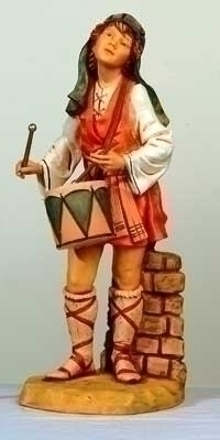 "27"" Jareth the Drummer Boy Figure - Fontanini"