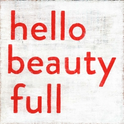 "36"" x 36"" Hello Beauty Full Art Print by Sugarboo Designs - Special Order"