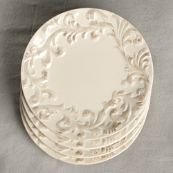 8.5 in. Salad Plate-Set of 4-Cream - GG Collection (Special Order)