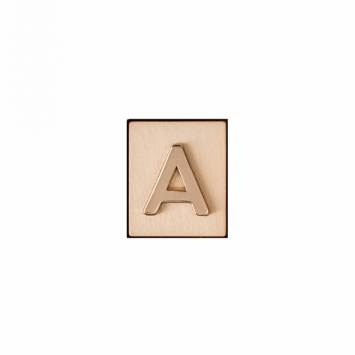 """""""A"""" AKA Monogram Letter & Icon Spacer by Spartina 449"""
