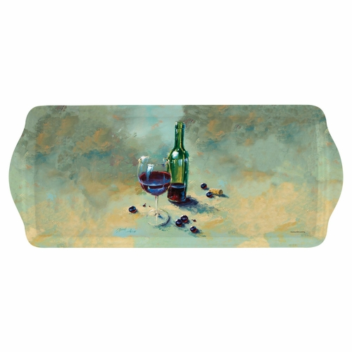 A Glass Half Full Sandwich Tray by Pimpernel