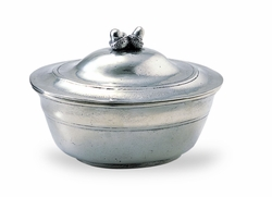 Acorn Lidded Bowl by Match Pewter