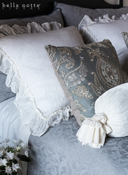 Adele Coverlet with Self Flange by Bella Notte