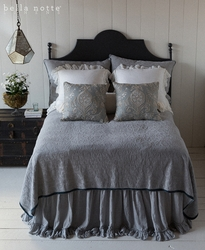 Adele Coverlet with Silk Velvet by Bella Notte