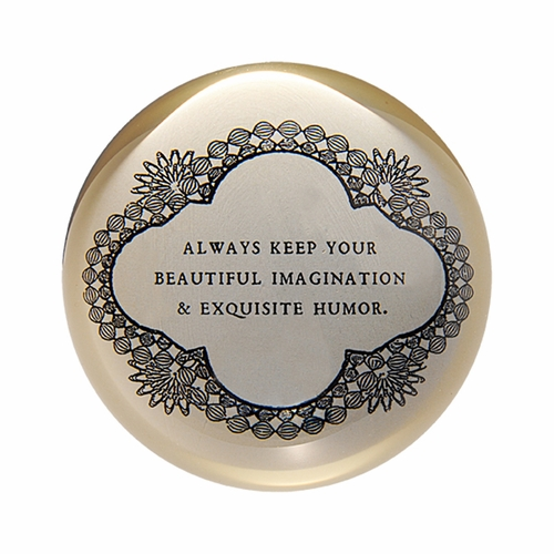 Always Keep Your Beautiful Paper Weight (Set of 2) by Sugarboo Designs