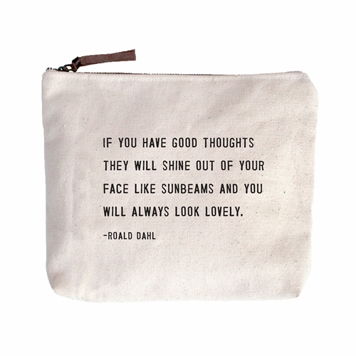 PRE-ORDER - Available Late May - Always Look Lovely Canvas Bag by Sugarboo Designs