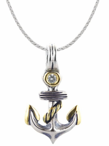 Anchor Little Inspirations with Chain by John Medeiros