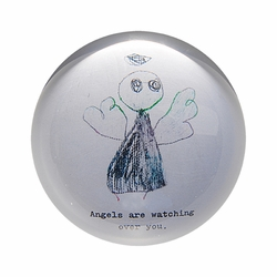 Angels Are Watching Paper Weight (Set of 2) by Sugarboo Designs
