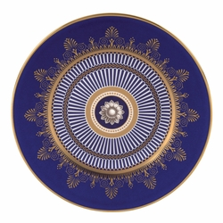 Anthemion Blue Salad Plate by Wedgwood & Bentley - Special Order