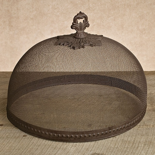 Antique Copper Large Mesh Dome - Set of 2 - GG Collection (Special Order)