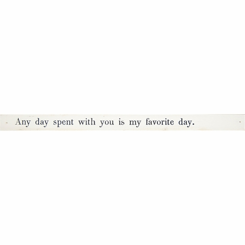 Any Day Spent With You Poetry Stick by Sugarboo Designs