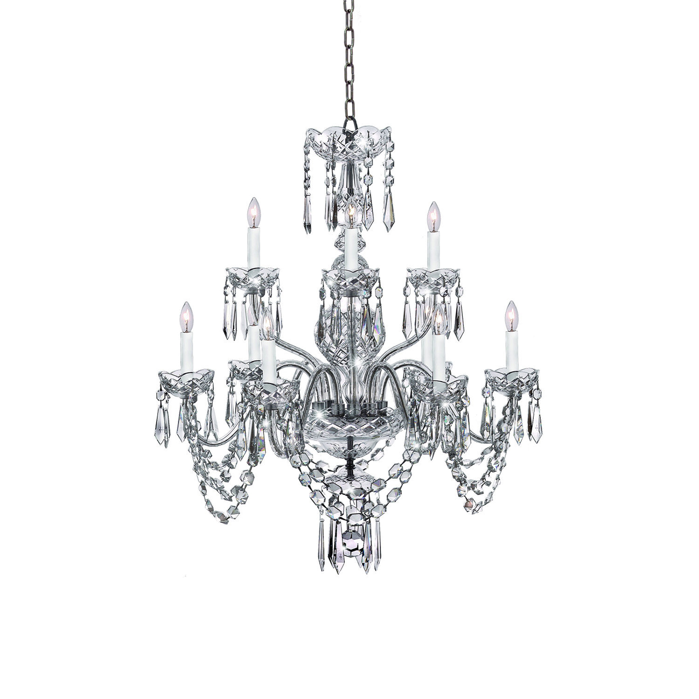 Ashbourne 9 arm chandelier by waterford arubaitofo Choice Image