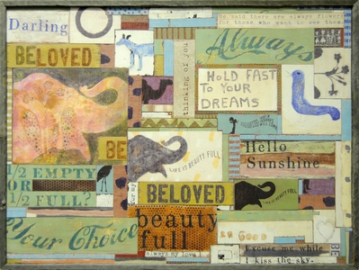 Assemblage Art Print Collection by Sugarboo Designs