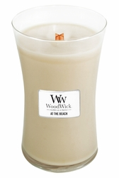At The Beach WoodWick Candle 22 oz. | WoodWick Spring & Summer Clearance