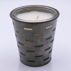 Autumn Gatherings Olive Bucket Candle by Park Hill Collection