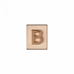 """B"" AKA Monogram Letter & Icon Spacer by Spartina 449"
