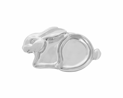 Baby Bunny Keepsake Divided Plate by Arthur Court