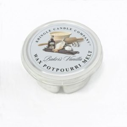 Baker's Vanilla Wax Potpourri Melt by Kringle Candles- | Wax Potpourri Melts by Kringle Candles